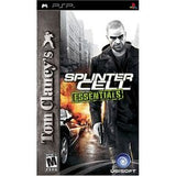 Splinter Cell Essentials PSP Game Off the Charts