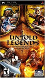 Untold Legends PSP Game Off the Charts