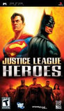 Justice League Heroes PSP Game Off the Charts