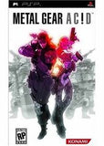 Metal Gear Acid PSP Game Off the Charts