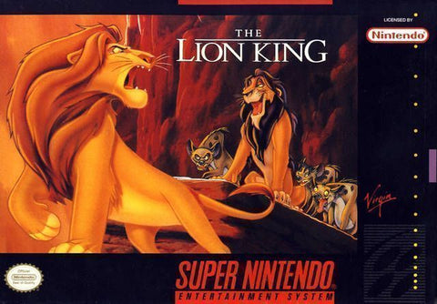 The Lion King - Cartridge Only Super Nintendo Game Off the Charts