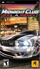 Midnight Club LA Remix PSP Game Off the Charts