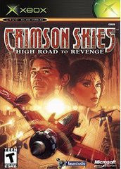 Crimson Skies High Road To Revenge Xbox Game Off the Charts