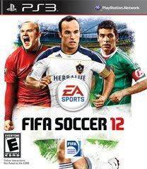 FIFA Soccer 12 Playstation 3 Game Off the Charts