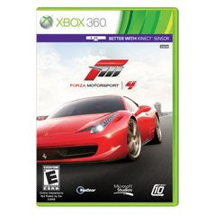 Forza 4 Xbox 360 Game Off the Charts
