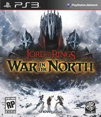 Lord of the Rings War in the North Playstation 3 Game Off the Charts