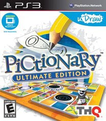 Pictionary Ultimate Edition Playstation 3 Game Off the Charts