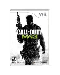 Call of Duty Modern Warfare 3 Wii Game Off the Charts