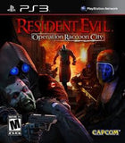 Resident Evil Operation Raccoon City Playstation 3 Game Off the Charts