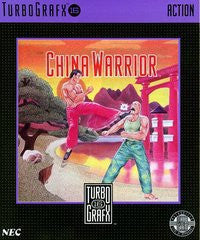 China Warrior TurboGrafx-16 Game Off the Charts