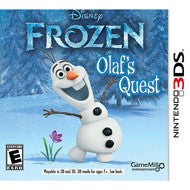 Disney Frozen: Olaf's Quest Nintendo 3DS Game Off the Charts