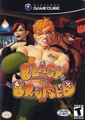 Black & Bruised Nintendo Gamecube Game Off the Charts