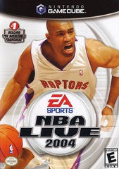 NBA Live 2004 Nintendo Gamecube Game Off the Charts