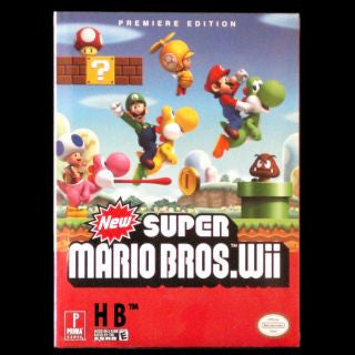 New Super Mario Bros. Wii Guide Wii Strategy Guide Off the Charts