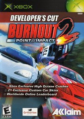 Burnout 2: Point Of Impact Xbox Game Off the Charts