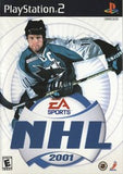 NHL 2001 Playstation 2 Game Off the Charts