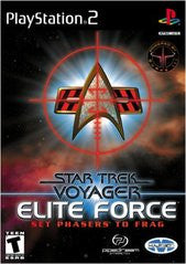 Star Trek Voyager: Elite Force Playstation 2 Game Off the Charts