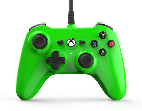 Xbox One Power A Mini Series Green Controller Xbox One Accessory Off the Charts
