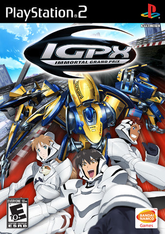IGPX Immortal Grand Prix Playstation 2 Game Off the Charts