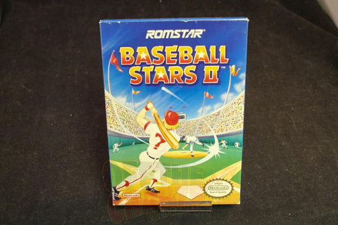 Baseball Stars II Complete in Box Nintendo NES - Off the Charts Video Games