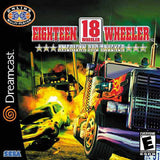 18 Wheeler American Pro Trucker Sega Dreamcast Game Off the Charts