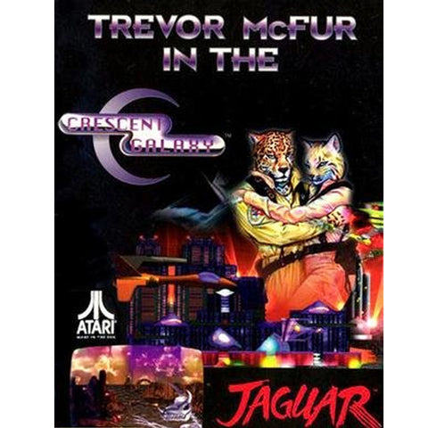 Trevor McFur in the Crescent Galaxy Atari Jaguar Game Off the Charts