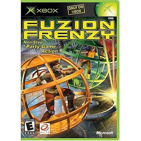 Fuzion Frenzy XBOX Game Off the Charts