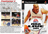NBA LIVE 2004 Playstation 2 Game Off the Charts