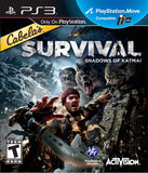 Cabela's Survival: Shadows of Katmai Playstation 3 Game Off the Charts