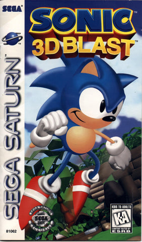 Sonic 3D Blast - Off the Charts Video Games