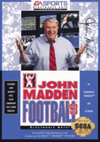 John Madden Football '93 Sega Genesis Game Off the Charts