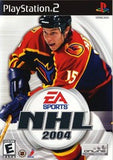 NHL 2004 Playstation 2 Game Off the Charts