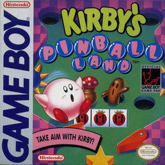 Kirby's Pinball Land Game Boy Game Off the Charts