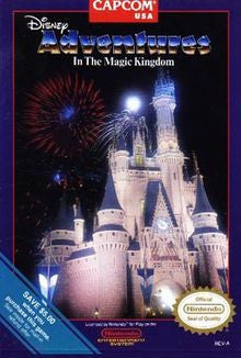 Disney Adventures in the Magic Kingdom Nintendo NES Game Off the Charts