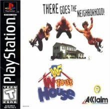 WWF In Your House Playstation Game Off the Charts