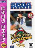 World Series Baseball 95 Game Gear Game Off the Charts