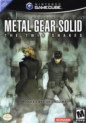 Metal Gear Solid the Twin Snakes Nintendo Gamecube Game Off the Charts