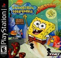 SpongeBob SquarePants: SuperSponge Playstation Game Off the Charts