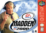 Madden 2000 - Off the Charts Video Games