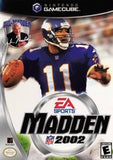 Madden 2002 Nintendo Gamecube Game Off the Charts