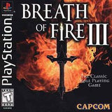 Breath of Fire III Playstation Game Off the Charts