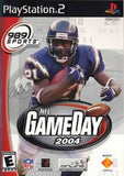 NFL Gameday 2004 Playstation 2 Game Off the Charts