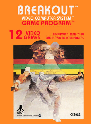 Breakout Atari 2600 Game Off the Charts