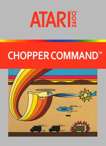 Chopper Command Atari 2600 Game Off the Charts