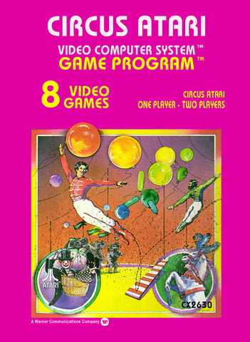 Circus Atari Atari 2600 Game Off the Charts