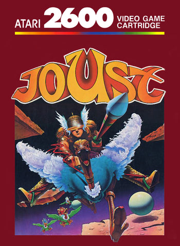 Joust Atari 2600 Game Off the Charts
