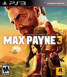 Max Payne 3 Playstation 3 Game Off the Charts