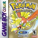 Pokemon Gold Game Boy Color Game Off the Charts