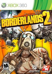 Borderlands 2 Xbox 360 Game Off the Charts