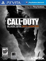 Call of Duty Black Ops: Declassified PS Vita Game Off the Charts
